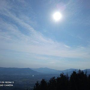 Alžběta Šlosarová na vrcholu Velký Javorník (29.6.2021 8:13)