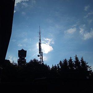 Alžběta Šlosarová na vrcholu Velký Javorník (2.7.2021 17:46)