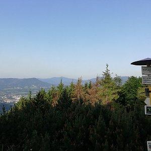Martin Vlček na vrcholu Velký Javorník (12.6.2019 19:20)