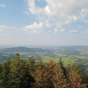 Milan Meravy na vrcholu Velký Javorník (7.9.2021 17:18)