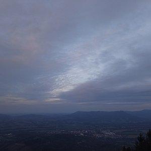 Alžběta Šlosarová na vrcholu Velký Javorník (14.10.2021 17:48)