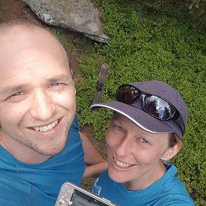 Michaela Karásková na vrcholu Randlofen (9.7.2021 14:19)