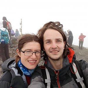 Pavla Lžičařová na vrcholu Veľký Kriváň (19.5.2018 12:19)