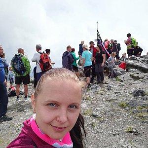 Berusaaa12345 na vrcholu Veľký Kriváň (22.6.2019 11:08)