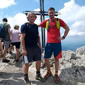 Jiří Tomaštík na vrcholu Veľký Rozsutec (4.7.2020 13:54)