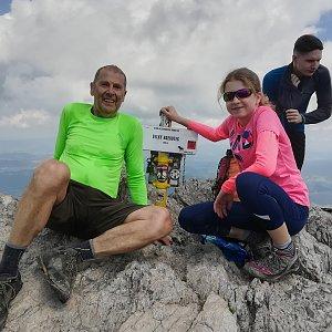 MUDr.Svatopluk Kunčar na vrcholu Veľký Rozsutec (22.7.2020 17:26)