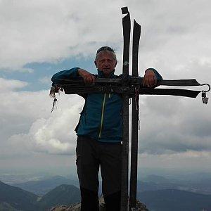 Pepino na vrcholu Veľký Rozsutec (16.7.2017 11:00)