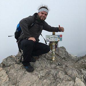 Johny na vrcholu Veľký Rozsutec (11.11.2018 13:00)