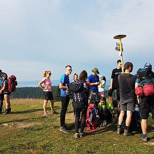Michal na vrcholu Kečka (16.8.2020 8:43)