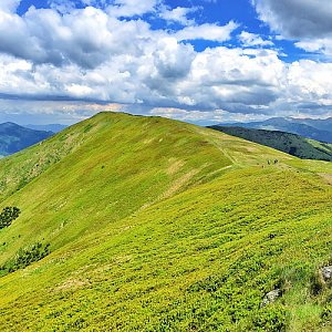 Martin Matějka na vrcholu Veľká Chochuľa (19.6.2016 13:23)