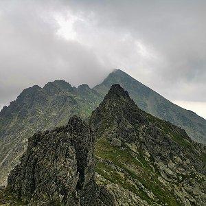 Ondra Horáček na vrcholu Predný Slavkovský hrb (25.7.2021 10:07)