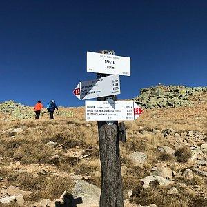 Karin Satoriová na vrcholu Dereše (26.10.2019 11:35)