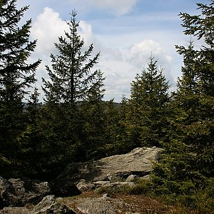 Bouřka na vrcholu Holý vrch (14.5.2016 10:26)