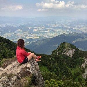 Radůza na vrcholu Veľký Choč (20.6.2018 14:25)