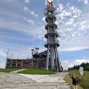 Petr Vidlář na vrcholu Velká Javořina (26.7.2020 13:53)