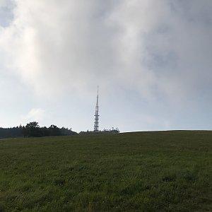David na vrcholu Velká Javořina (24.9.2020 15:59)