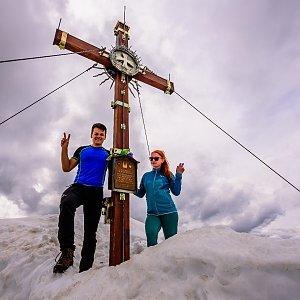 Ondřej Buček na vrcholu Habicht (3.7.2021 16:39)