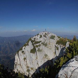 Petr T. na vrcholu Hochlantsch (13.10.2018 14:26)