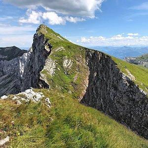 Martin Matějka na vrcholu Hochiss (12.8.2021 14:38)