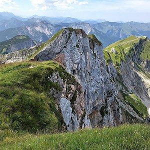 Martin Matějka na vrcholu Streichkopf (12.8.2021 14:23)