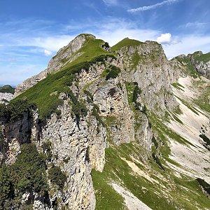Martin Matějka na vrcholu Dalfazer Roßkopf (12.8.2021 13:11)