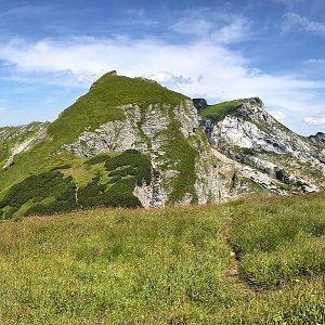 Martin Matějka na vrcholu Dalfazer Joch (12.8.2021 13:48)