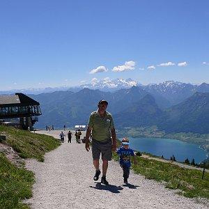 Divočák junior na vrcholu Schafberg (28.5.2017 11:45)