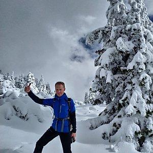 Pavel Rýdl na vrcholu Schafberg (18.10.2020 12:46)