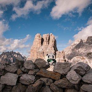 Ivetast na vrcholu Sasso di Sesto (30.9.2021 14:50)