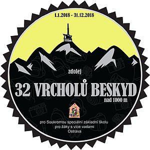 32 vrcholů Beskyd 2018